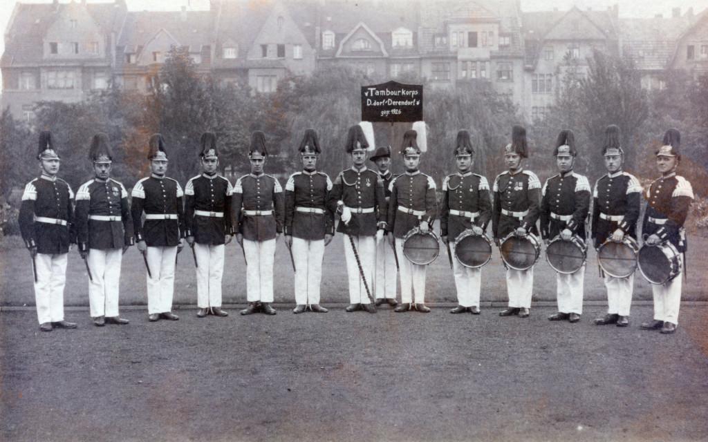 Das Tambour-Corps in der Gründerzeit 1926